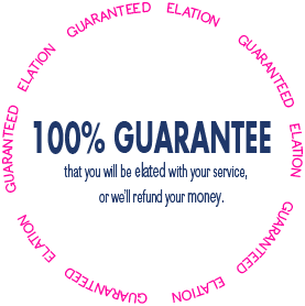 100% Satisfaction Guaranteed for Translation, Interpreting and Global Marketing Services